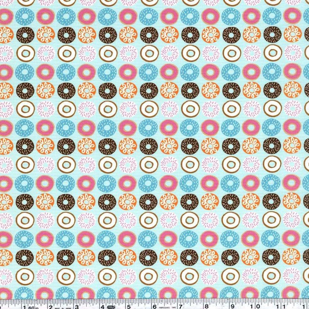 Suzy's Minis - Doughnuts - Aqua