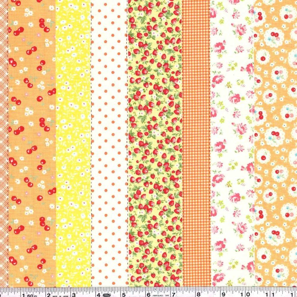 Atsuko's 30s Collection - Fruit Stripe - Orange