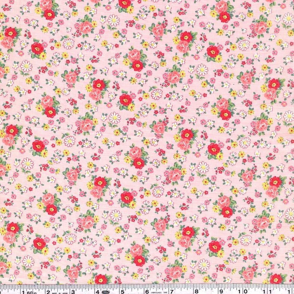 Atsuko's 30s Collection - Vintage Floral - Pink