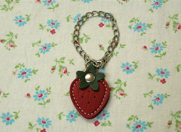 Charm - Large Red Strawberry