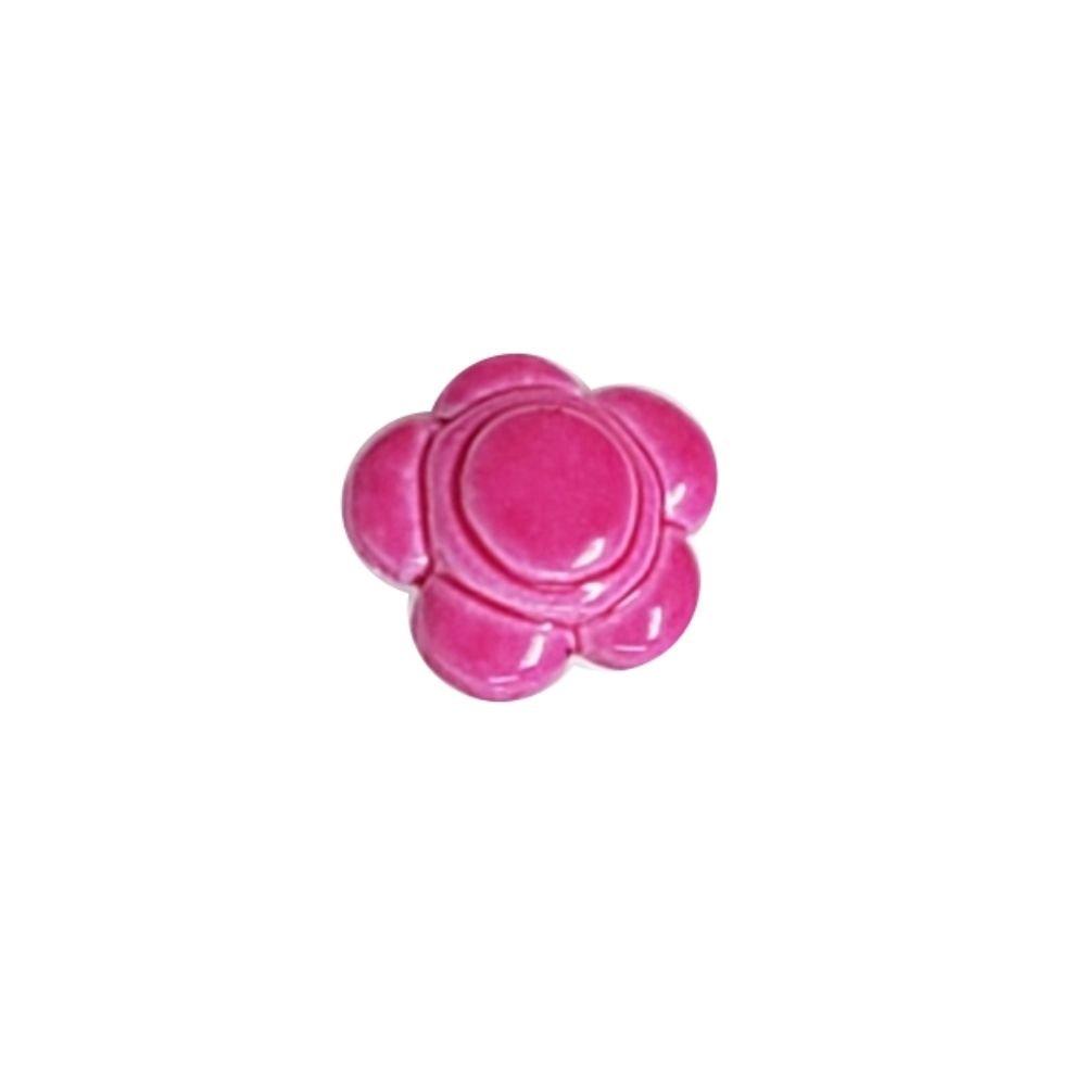 Bubble Flower Button - 15mm