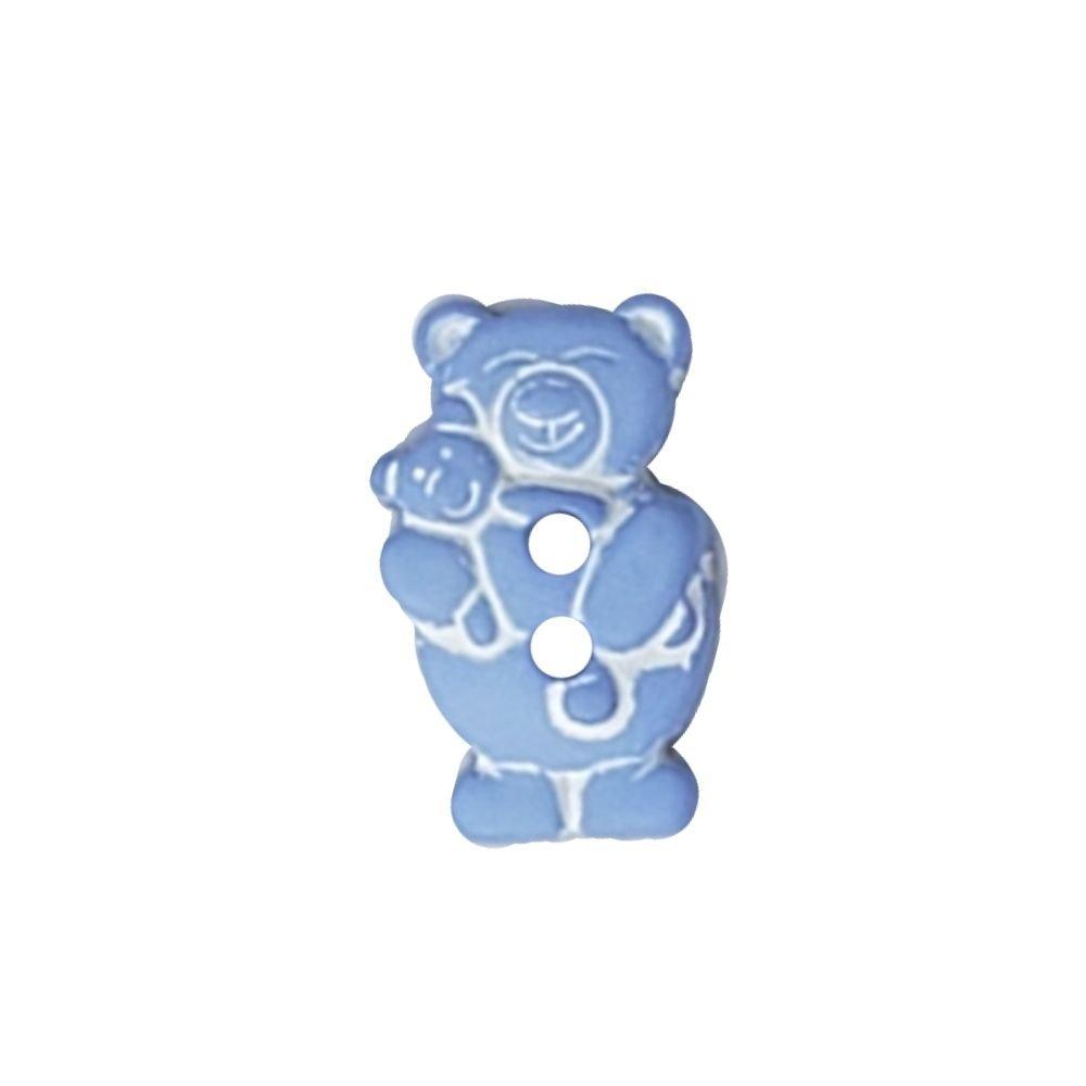 Teddy & Cub Button - 18mm