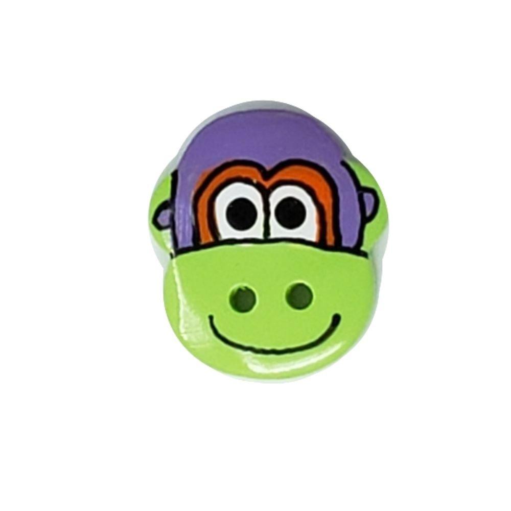 Monkey Button - 22mm
