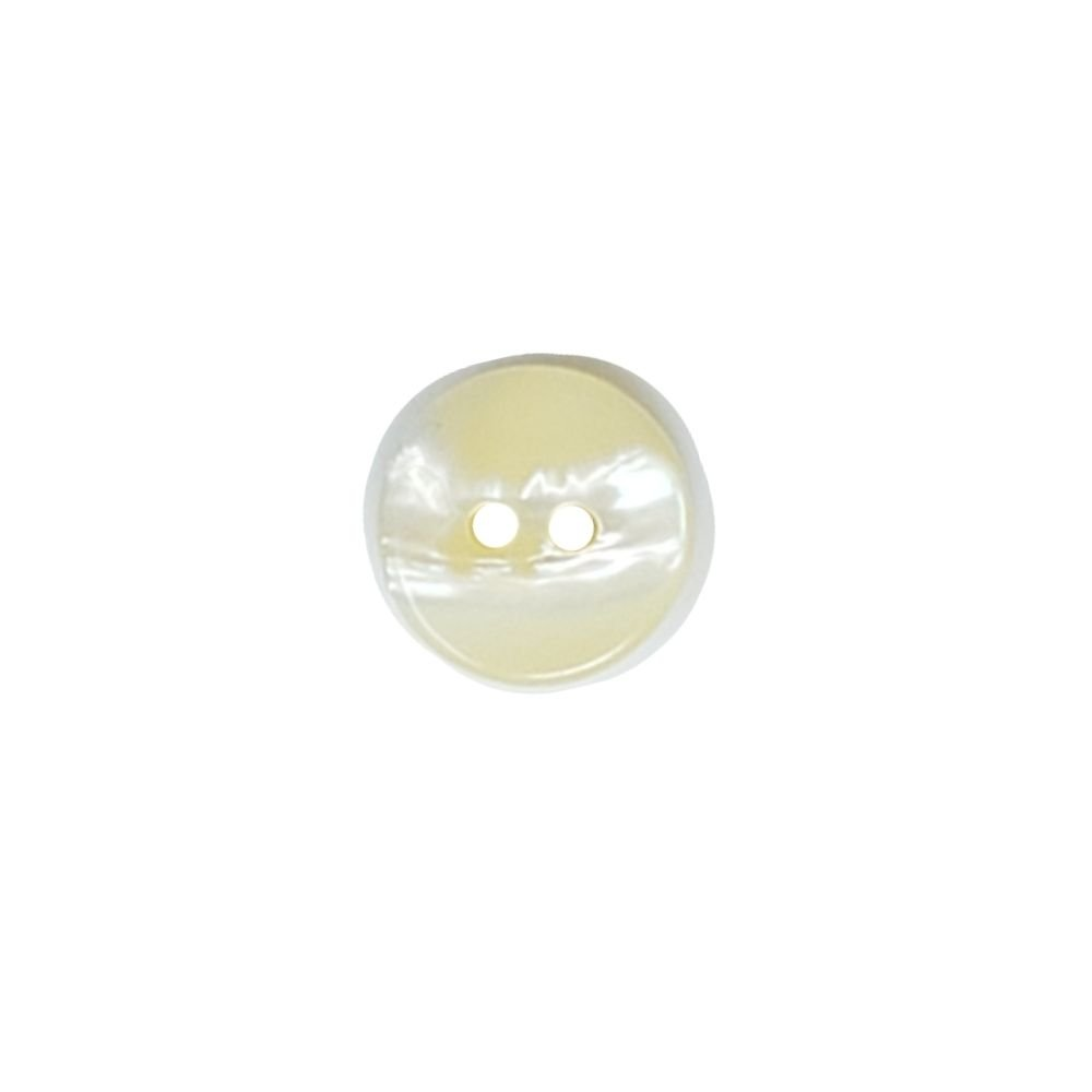 Shell Nugget Button - 15mm