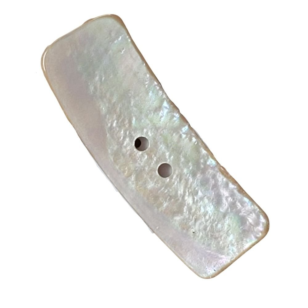 Natural Mother-of-Pearl Toggle Button - 20mm