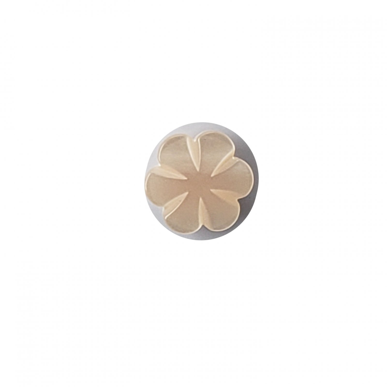 Pearlized Pastel Flower Buttons