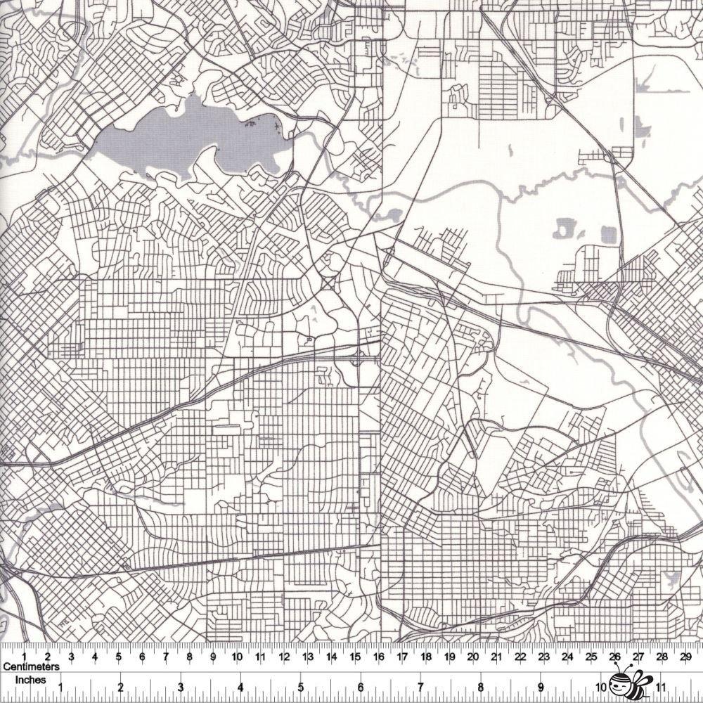 Destinations - Map - Cream
