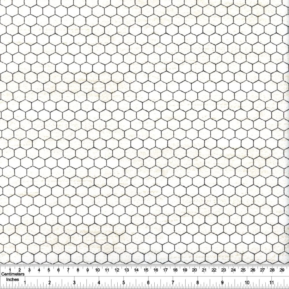 Bee's Life - Honeycomb - Parchment