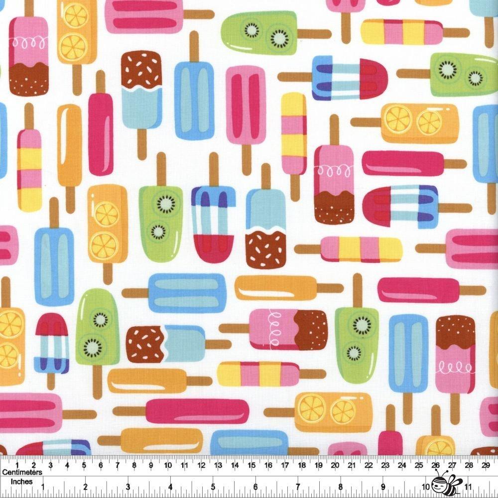 Rainbowfruit - Popsicle Party - White