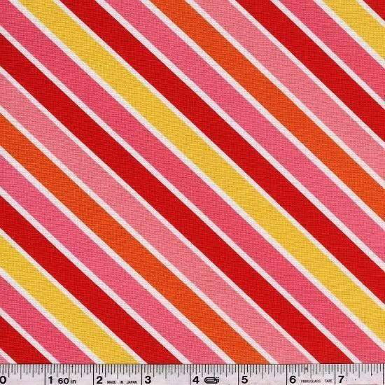 Hello - Stripe - Pink