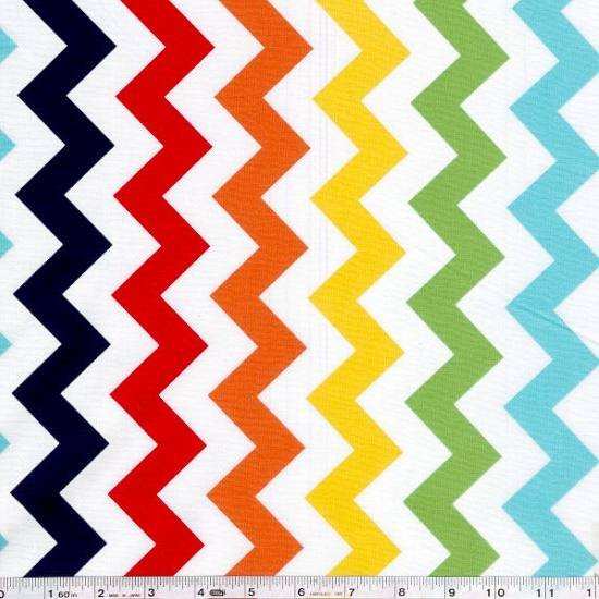 Medium Chevron - Rainbow