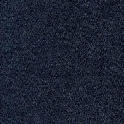Cotton Tencel Denim - 5 oz - Indigo-Bio Washed