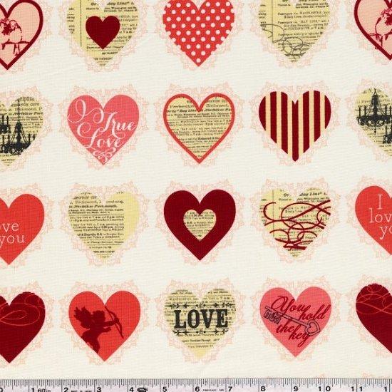 Lost & Found Love - Valentine Hearts - Pink