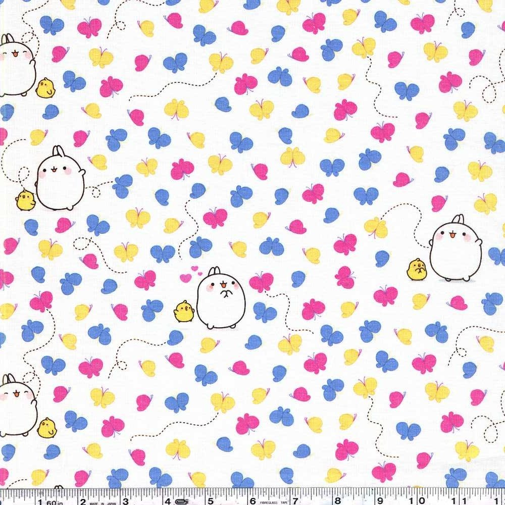 Molang - Butterflies - White