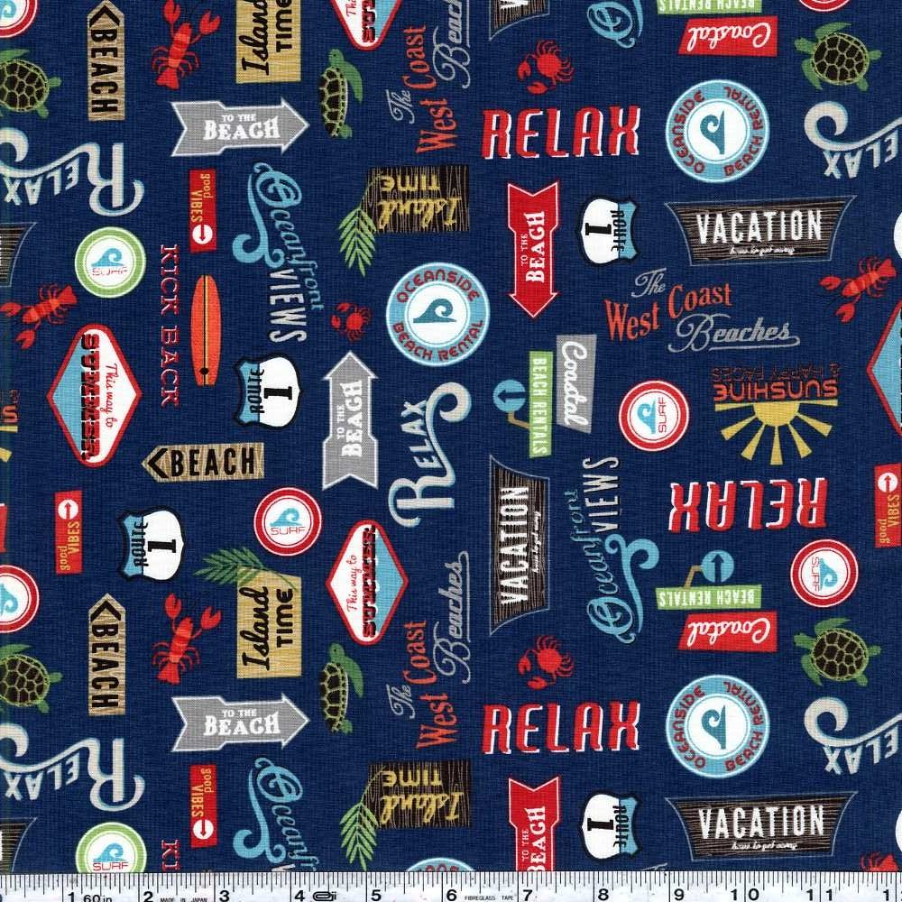 Offshore - Retro Signs - Navy