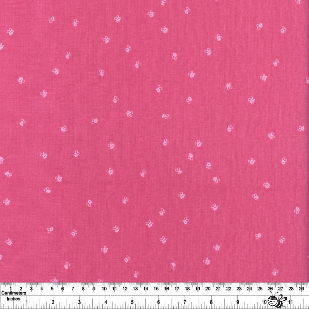 New Dawn - Bees - Hot Pink