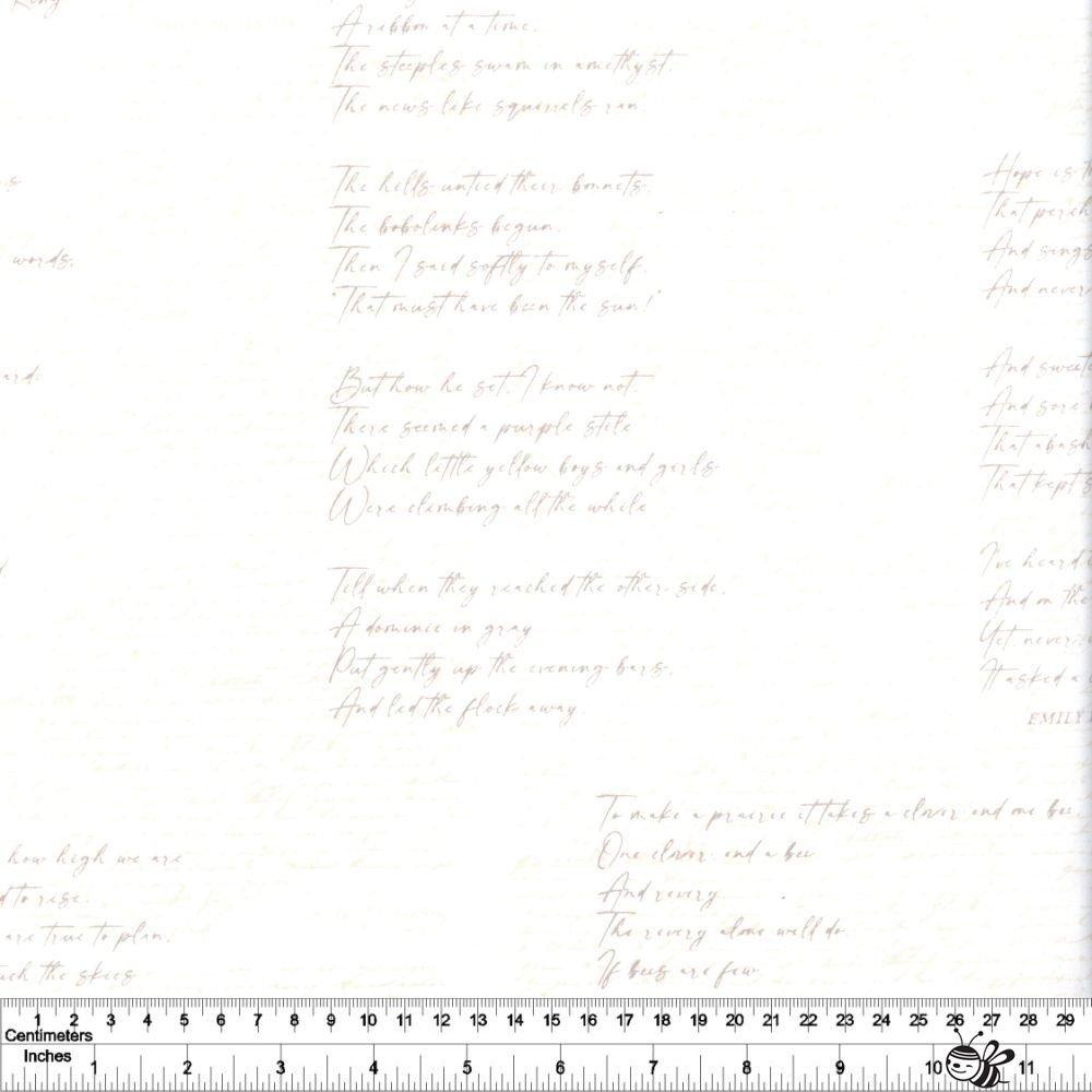 Soften the Volume - Poetic Manuscripts