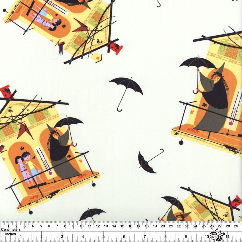 Charley Harper Halloween - Fair Weather Friends