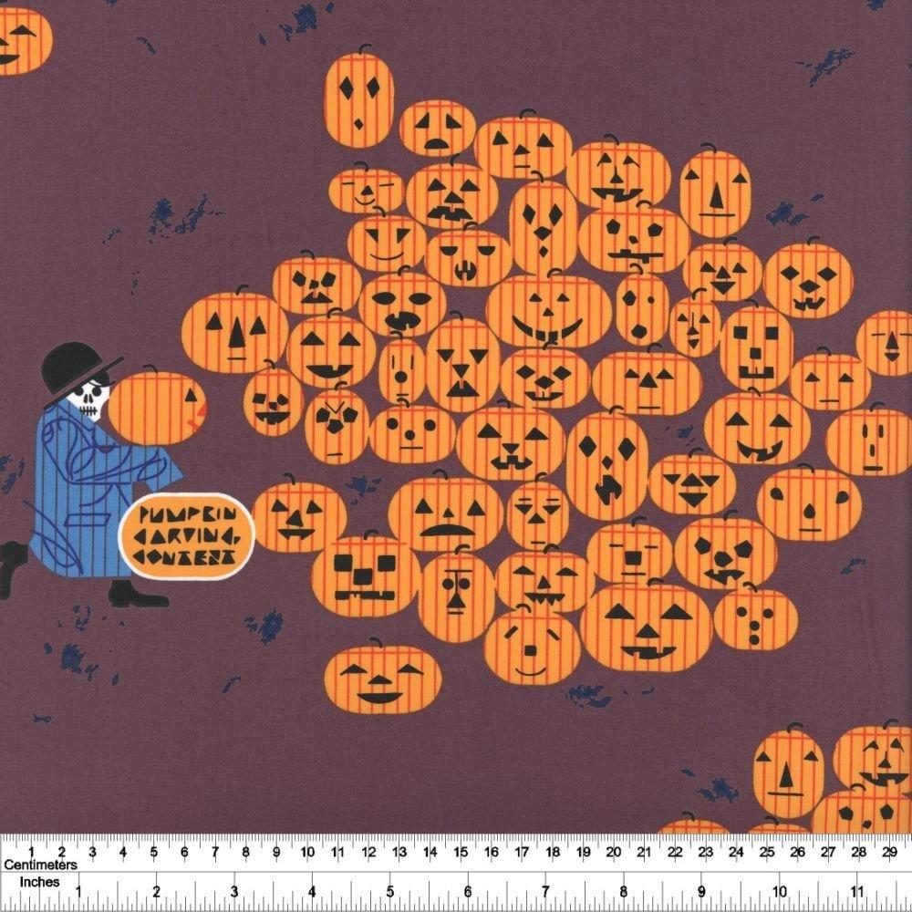 Charley Harper Halloween - Jack-O-Lantern
