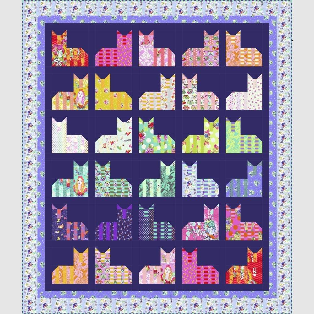 Cheshire Cats - PDF Pattern