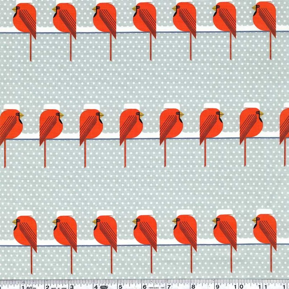 Charley Harper Holidays - Cool Cardinals