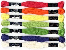 Cosmo 6-Strand Cotton Embroidery Floss