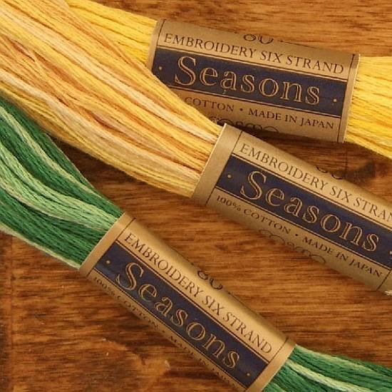 Cosmo Seasons 6-Strand Variegated Cotton Embroidery Floss