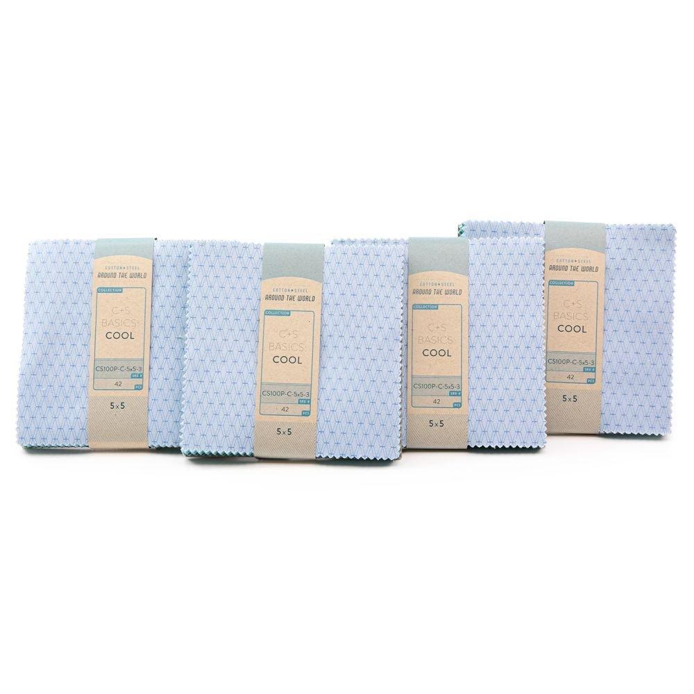 Charm Pack - Cotton + Steel Basics - Cool Palette