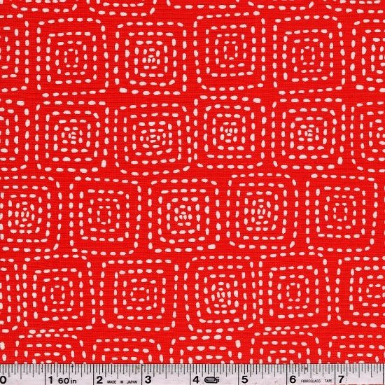 Stitch Square - Red