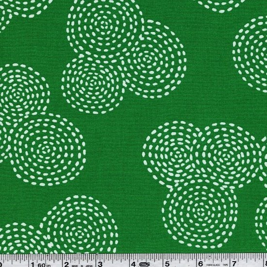 Stitch Circle - Emerald
