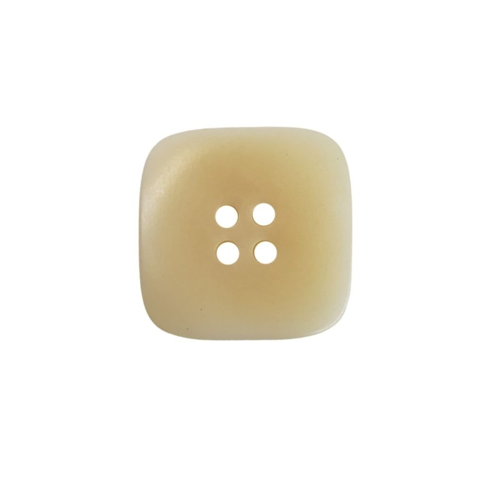 Tagua Nut Square - Ivory - 20mm
