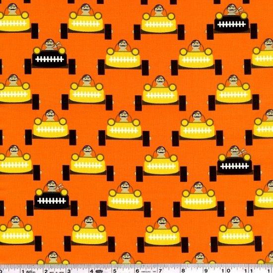 Les Monsieurs - Gentlemen Start Your Engines - Orange