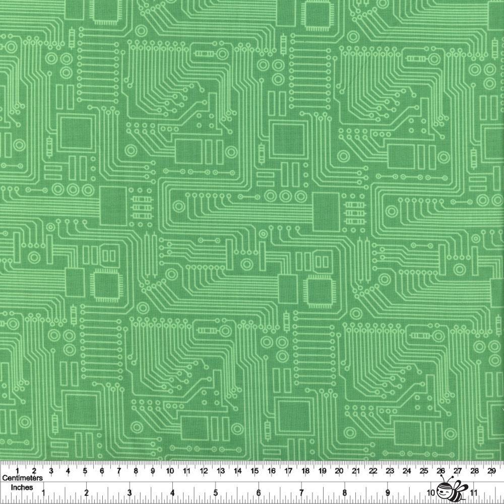 STEM Squad - Circuit Board - Green