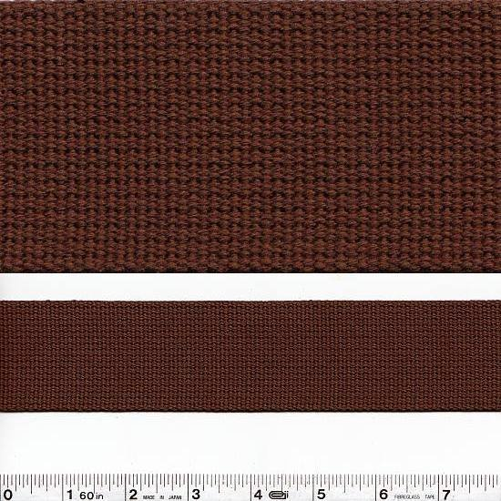 Echino Notions - Wide Webbing - Chocolate