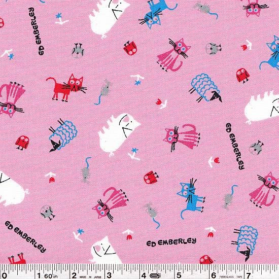 Ed Emberley - Farm Scatter - Pink