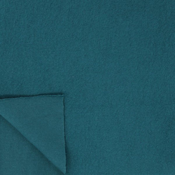 Organic Fleece Solids - Teal
