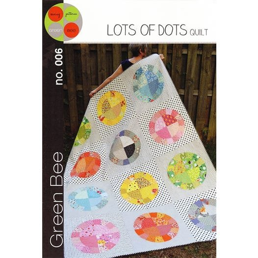 Green Bee - Lots of Dots Quilt