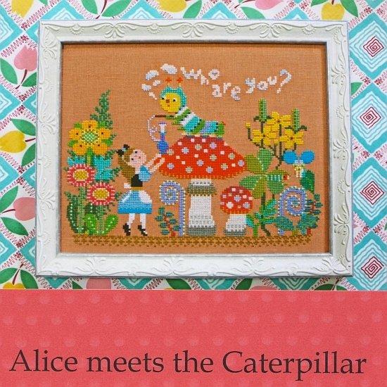 Gera Cross Stitch - Alice Meets the Caterpillar