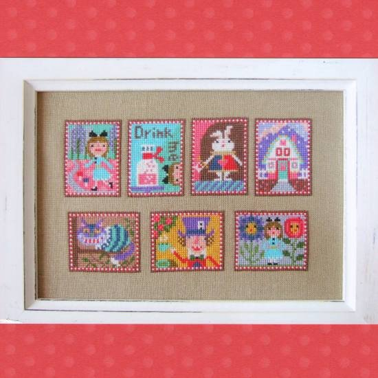 Gera Cross Stitch - Alice in Wonderland 2