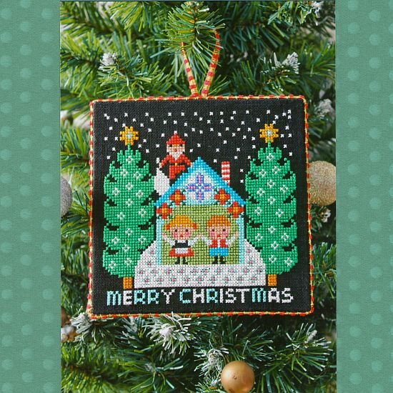 Gera Cross Stitch - Santa Has Come 1