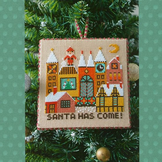 Gera Cross Stitch - Santa Has Come 2