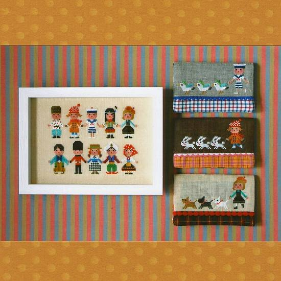 Gera Cross Stitch - International Kids 2