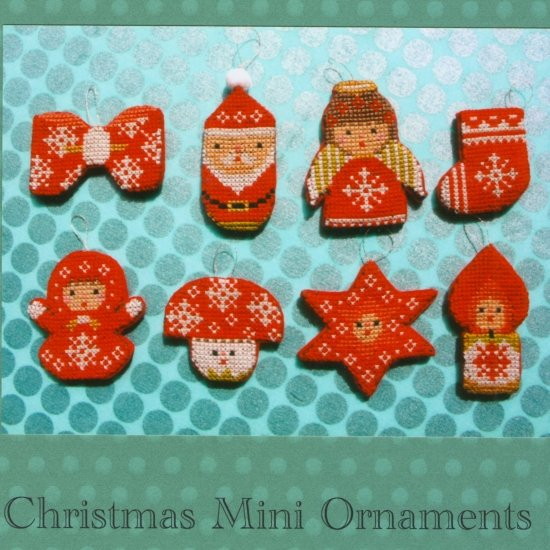 Gera Cross Stitch - Christmas Mini Ornaments