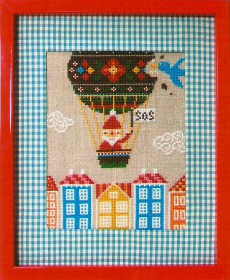 Gera Cross Stitch - Santa SOS