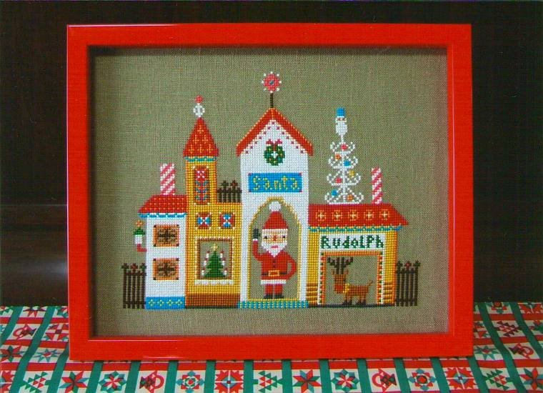 Gera Cross Stitch - Santa's House