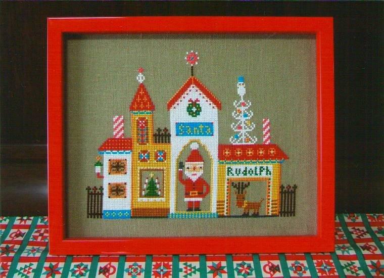 Gera Cross Stitch - Santa's House
