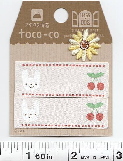 Toco-co - Bunny & Cherry Tags