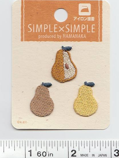 Simple X Simple - Pears