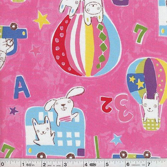 Bunny Travel - Vignette - Pink