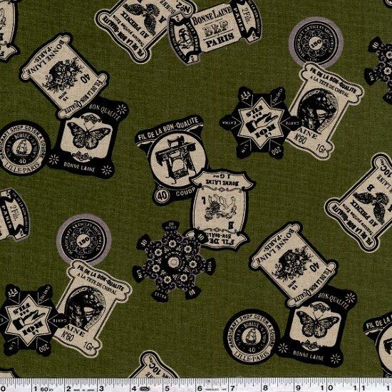 Atelier Parisien - Thread Cards - Olive